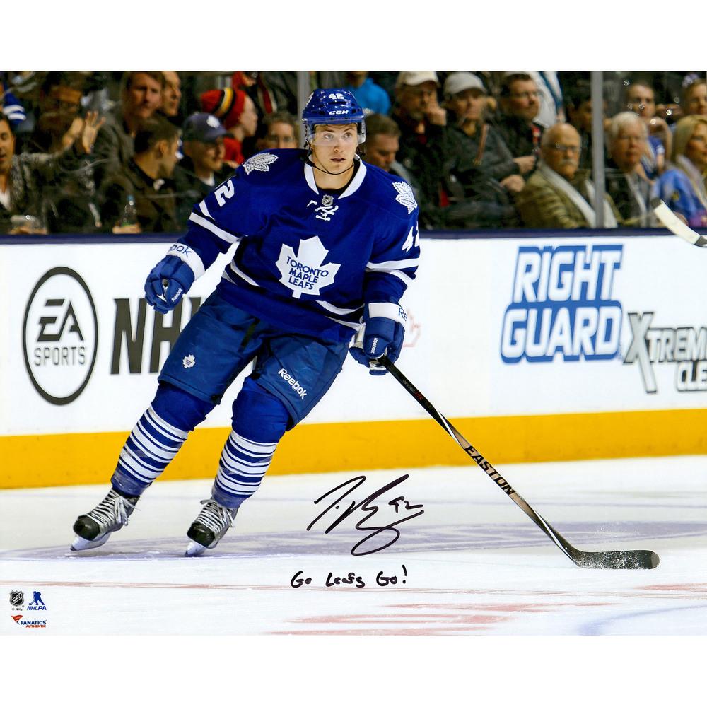 Tyler Bozak Toronto Maple Leafs Autographed 16