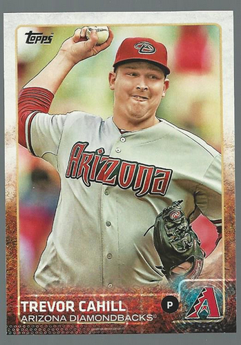Photo of 2015 Topps #346 Trevor Cahill
