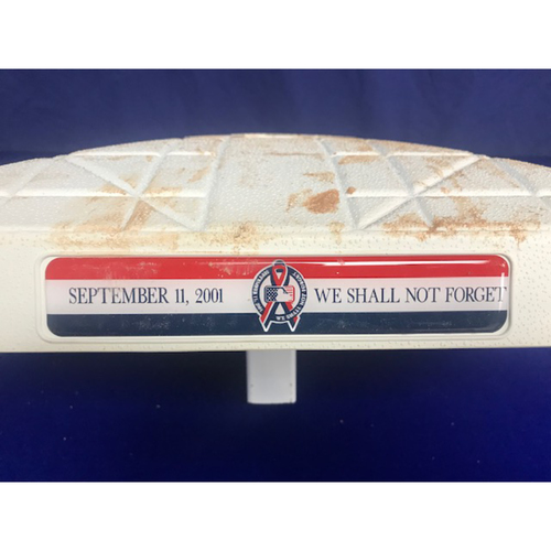 Photo of Game Used 3rd Base from the September 11th 2018 Game