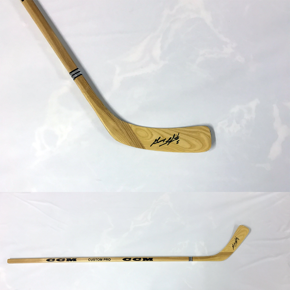 GUY LAPOINTE Signed CCM Stick - Montreal Canadiens