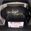 HOF - Seahawks Steve Largent Signed Commemorative Black Hall of Fame Football