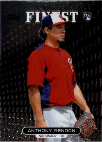 Photo of 2013 Finest #64 Anthony Rendon Rookie Card