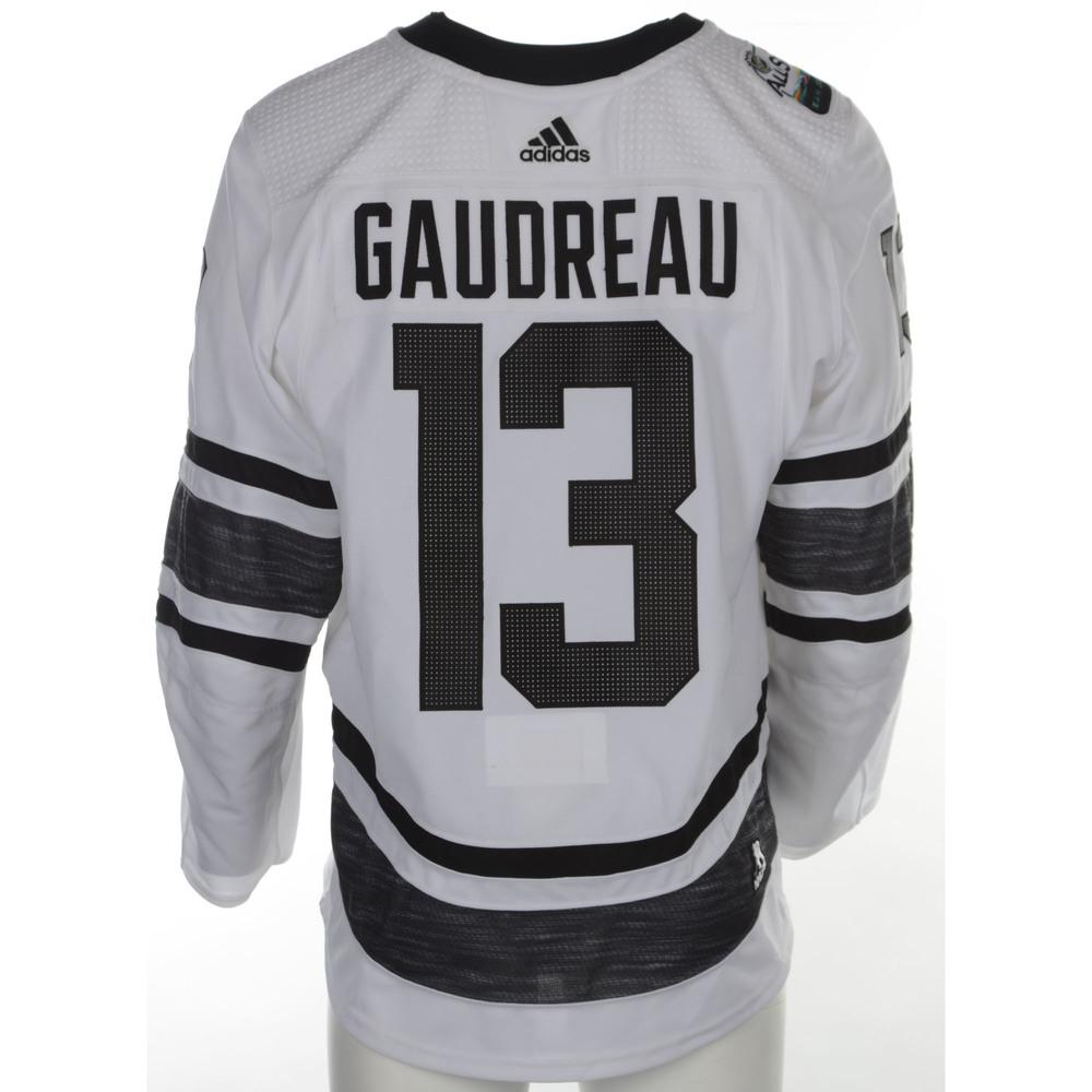 reputable site 8eb8a ede09 Johnny Gaudreau Calgary Flames 2019 NHL All Star Game Media ...