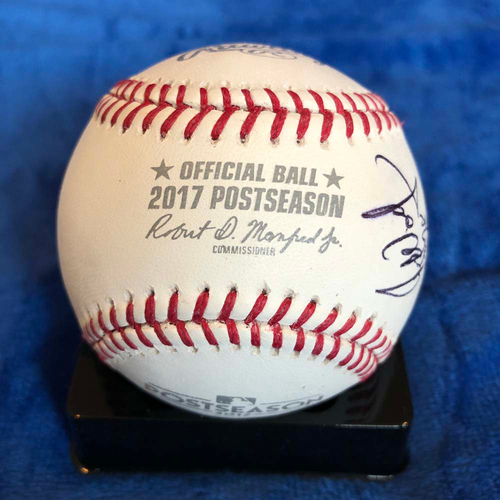 UMPS CARE AUCTION: 2017 NLCS Crew Signed Baseball