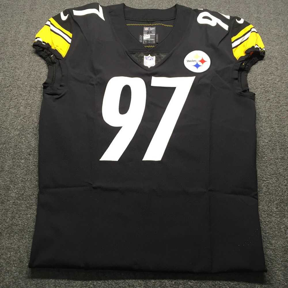 Crucial Catch - Steelers Cam Heyward Game issued Jersey 2018 Season Size 46