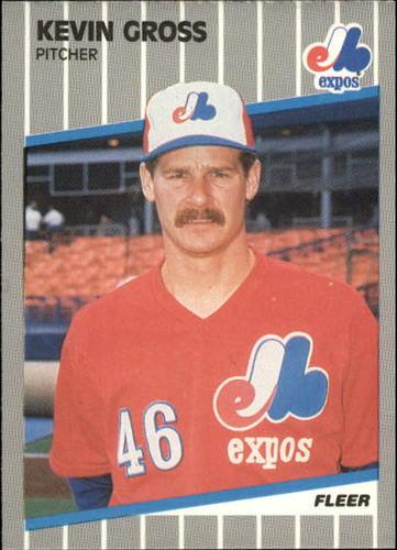 Photo of 1989 Fleer Update #96 Kevin Gross