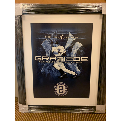 "Photo of ""Grati2de"" Derek Jeter Final Season Print"
