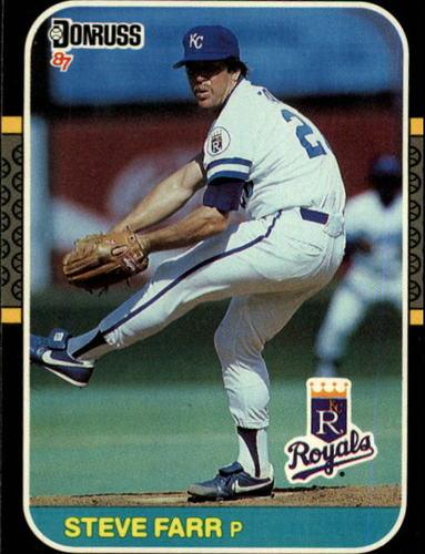 Photo of 1987 Donruss #301 Steve Farr