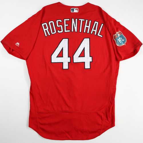 Photo of 2016 Spring Training - Spring Training Game Used Jersey - Trevor Rosenthal (Cardinals)- Size- 48