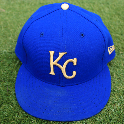 Photo of Game-Used Cap: Bubba Starling (Size 7 1/2 - MIN @ KC - 9/27/19)