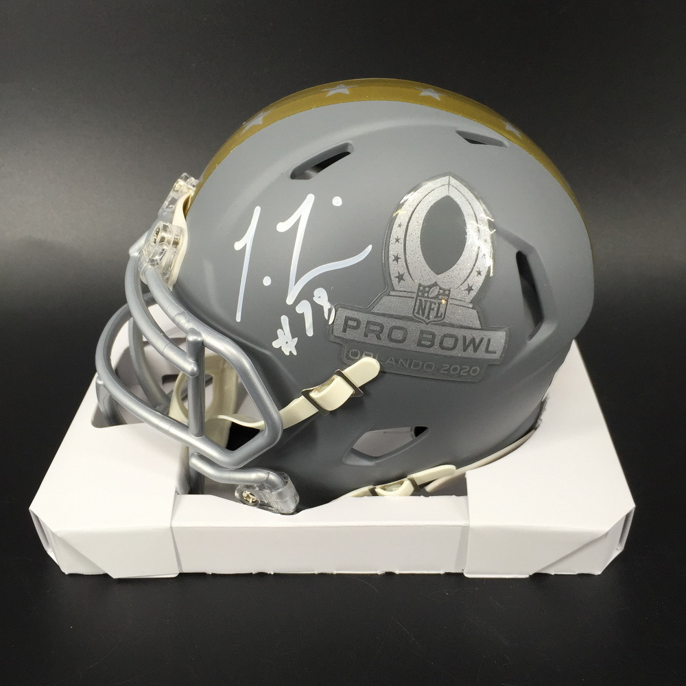 NFL - Texans Laremy Tunsil Signed Pro Bowl 2020 Mini Helmet