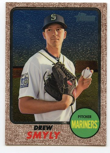Photo of 2017 Topps Heritage Chrome #THC589 Drew Smyly