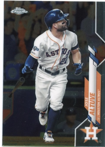 Photo of 2020 Topps Chrome #42 Jose Altuve
