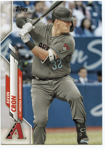 Photo of 2020 Topps #373 Kevin Cron