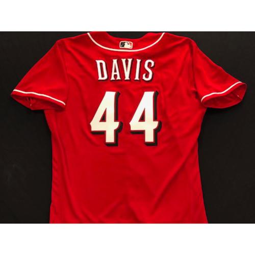 Eric Davis -- 2020 Spring Training Jersey -- Team-Issued -- Size 44