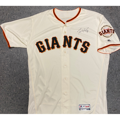 Photo of Giants Community Fund - Autographed Jersey signed by #57 Dereck Rodriguez - Size 48