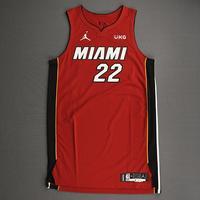 Jimmy Butler - Miami Heat - Game-Worn - Statement Edition Jersey - Christmas Day 2020 - 1st Half