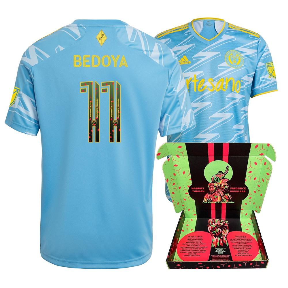 Alejandro Bedoya Philadelphia Union Match-Used & Signed