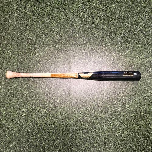 Photo of Avisail Garcia 07/20/21 Game-Used Cracked Bat (Broken Hitting Single)