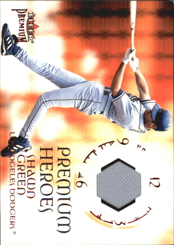 Photo of 2001 Fleer Premium Heroes Game Jersey #5 Shawn Green