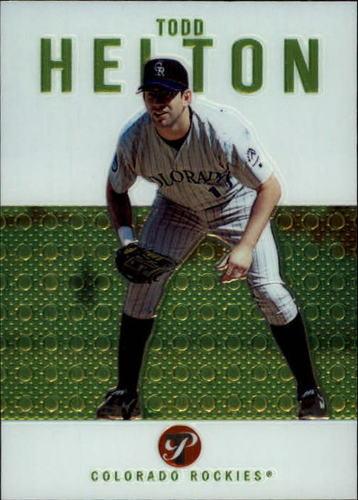 Photo of 2003 Topps Pristine #91 Todd Helton