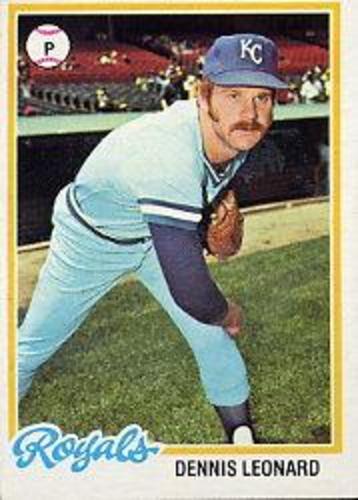 Photo of 1978 Topps #665 Dennis Leonard