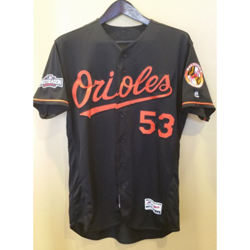 Zach Britton - Postseason Jersey: Game-Used