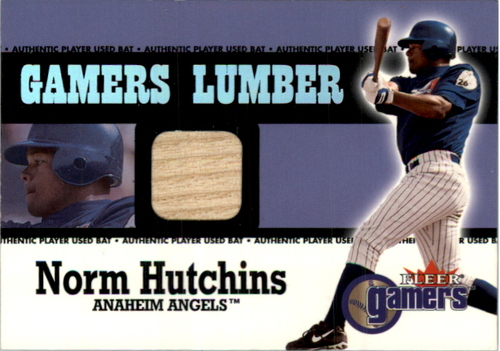 Photo of 2000 Fleer Gamers Lumber #23 Norm Hutchins