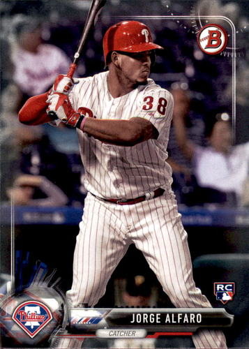 Photo of 2017 Bowman #60 Jorge Alfaro Rookie Card