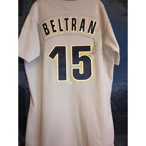 Game Used Carlos Beltran 1999 Turn Back The Clock Uniform