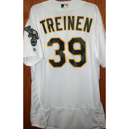 Blake Treinen Game-Used
