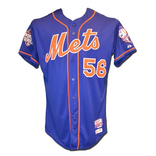 Matt Reynolds #56 - Team Issued 2015 World Series Blue Alt. Home Jersey
