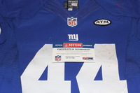 STS - GIANTS ANDRE WILLIAMS GAME WORN GIANTS JERSEY (NOVEMBER 15, 2015)