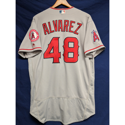 Photo of Jose Alvarez Game-Used Road Jersey