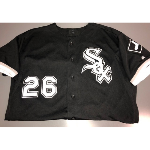 Avisail Garcia Game-Used 2017 Black Alternate Jersey - Size 50