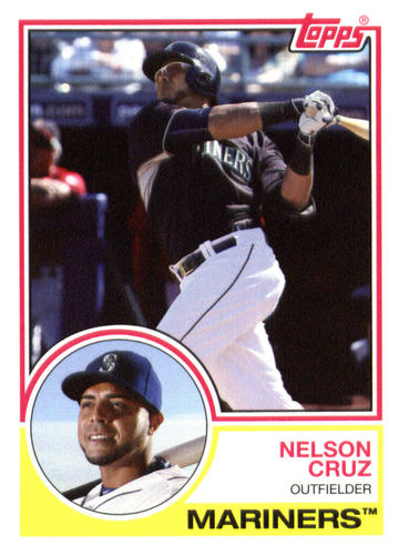 Photo of 2015 Topps Archives #270 Nelson Cruz