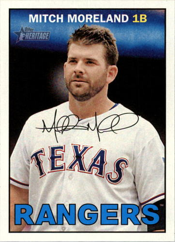 Photo of 2016 Topps Heritage #93 Mitch Moreland