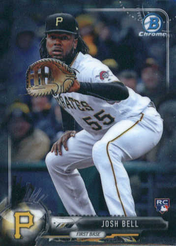Photo of 2017 Bowman Chrome #70 Josh Bell RC