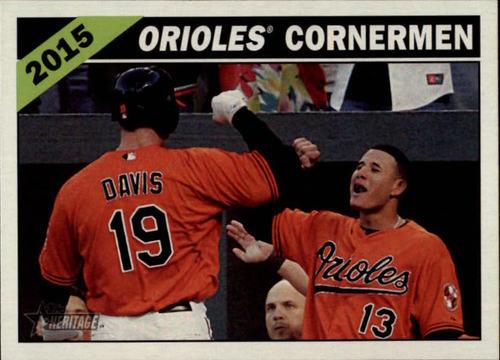 Photo of 2015 Topps Heritage Combo Cards #CC6 Manny Machado/Chris Davis