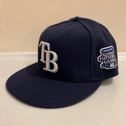 Photo of 2012 All Star Futures Game -  Game Used Cap  - Enny Romero (Tampa Bay Rays) Size - 7 -1/8