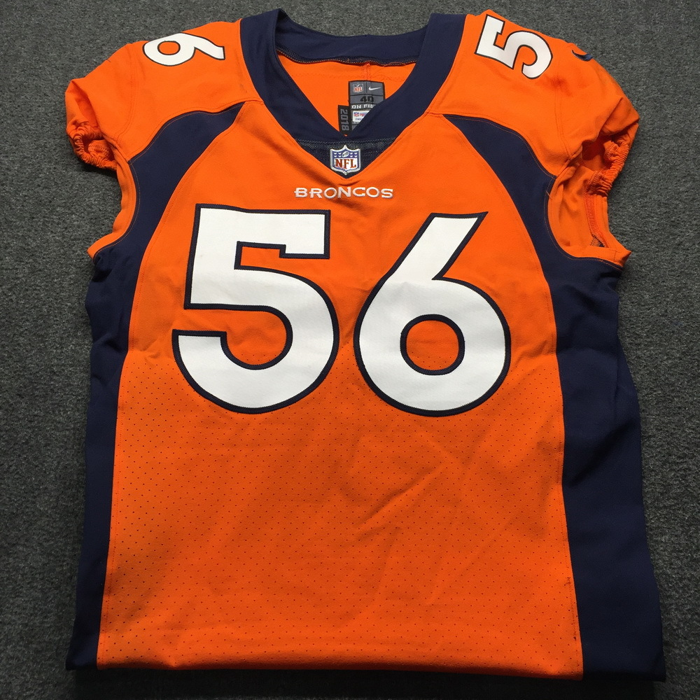 STS - Broncos Shane Ray Game Used Jersey (November 4th, 2018) Size 40