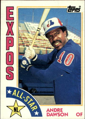 Photo of 1984 Topps #392 Andre Dawson AS