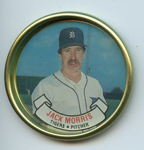 Photo of 1987 Topps Coins #18 Jack Morris