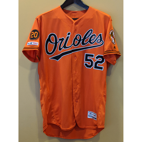 Branden Kline - Orange Alternate Jersey: Game-Used