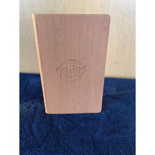 Photo of Twins Wives Holiday Fundraiser: Twins Woodgrain Journal