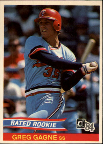 Photo of 1984 Donruss #39 Greg Gagne RC