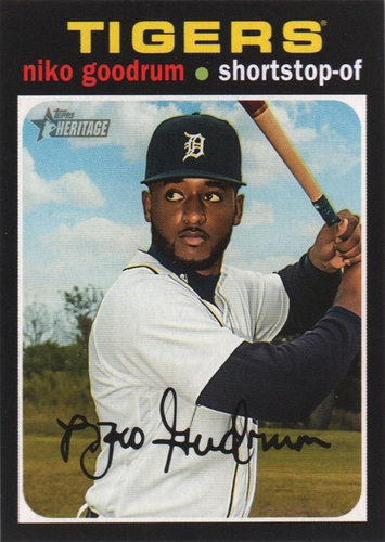 Photo of 2020 Topps Heritage #388 Niko Goodrum
