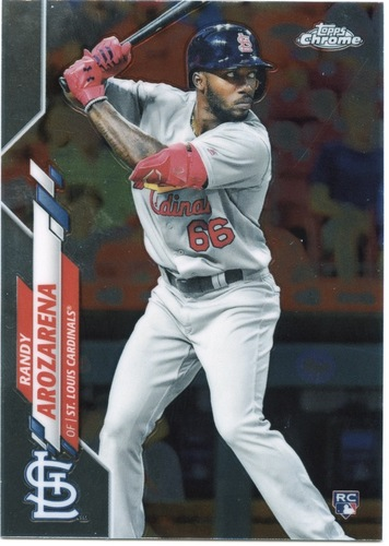 Photo of 2020 Topps Chrome #49 Randy Arozarena RC