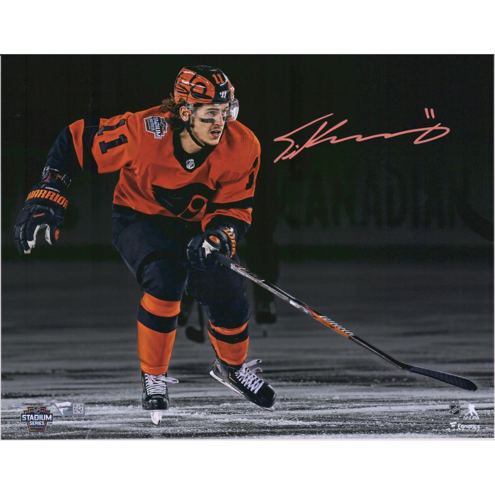 Travis Konecny Philadelphia Flyers Autographed 11