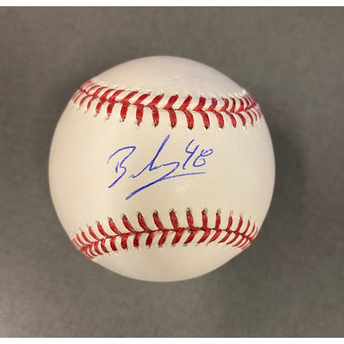 Photo of Brusdar Graterol Authentic Autographed Baseball